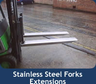 Stainless Steel Fork Extensions